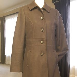 Ann Taylor Classic Brown Coat
